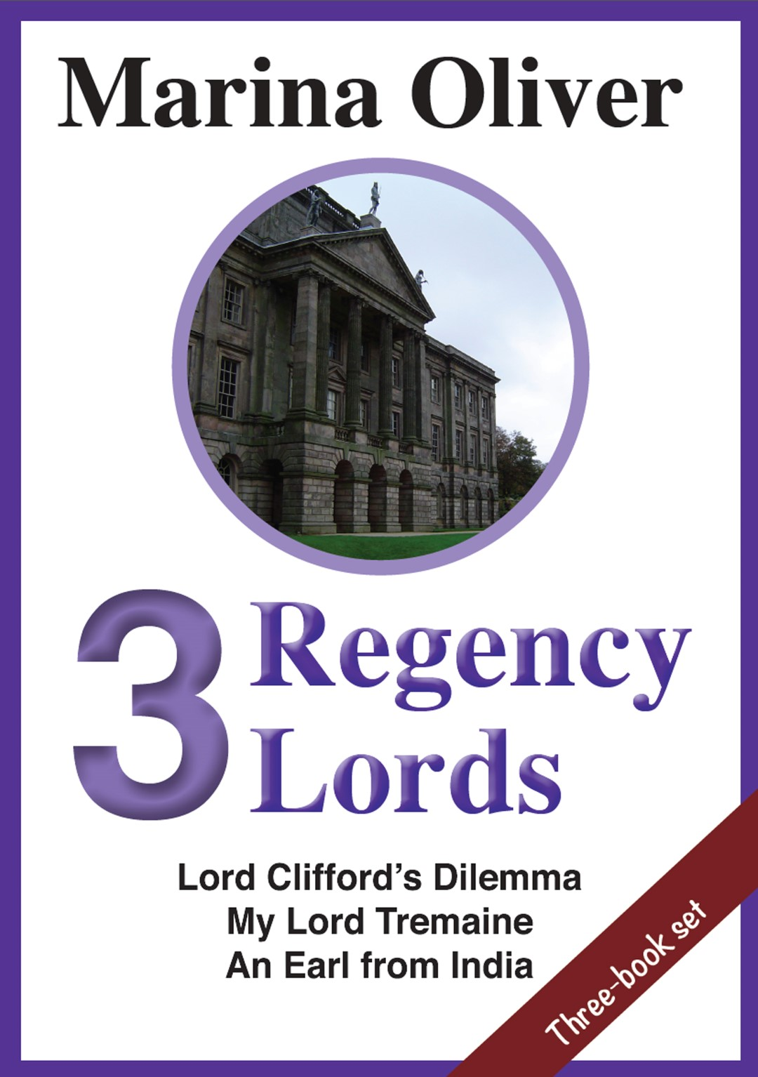 Cover of 3 Regency Lords Ebook