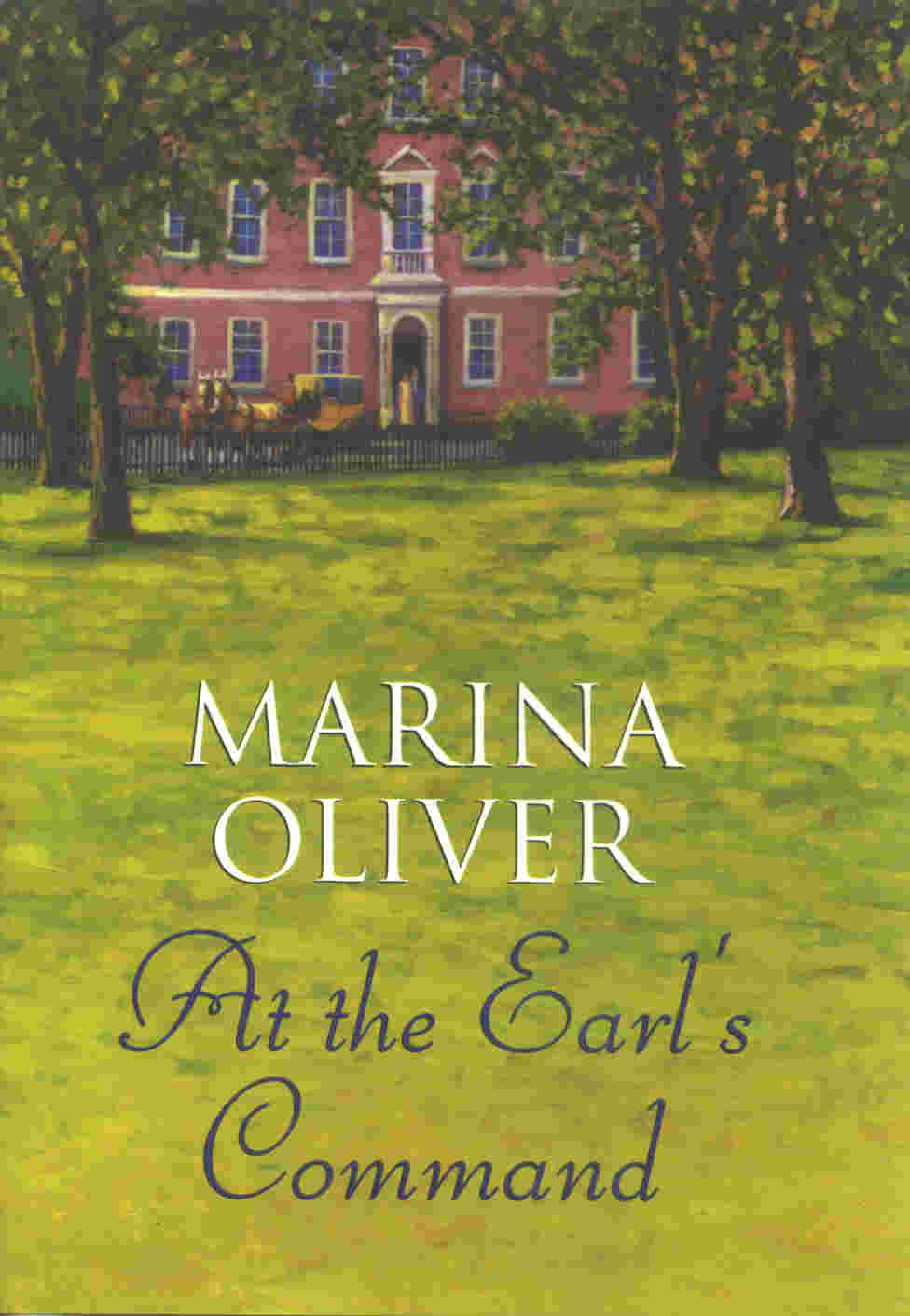 Cover of At the Earl's Command by Marina Oliver