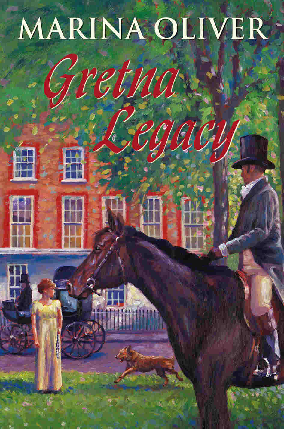 Cover of Gretna Legacy by Marina Oliver