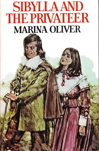 Cover of Sibylla and the Privateer by Marina Oliver