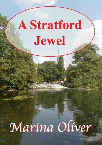 Cover of A Stratford Jewel by Marina Oliver